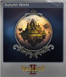 Warlock 2 the Exiled Card 01 Foil