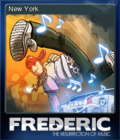 Frederic Resurrection of Music Card 1