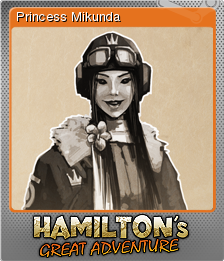 Hamilton's Great Adventure Foil 2