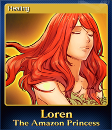Loren The Amazon Princess Card 4