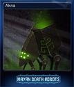 Mayan Death Robots Card 6