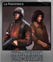 Strategic War in Europe Foil 6