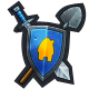 Villagers and Heroes Badge 3
