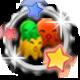 DanceWall Remix Badge Foil