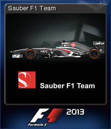F1 2013 Card 07