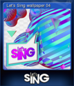 Lets Sing Card 4