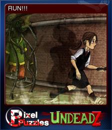 Pixel Puzzles UndeadZ Card 02
