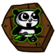 Super Panda Adventures Badge 3