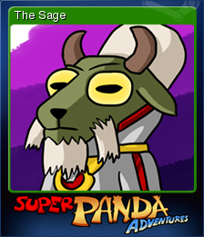 Super Panda Adventures Card 5