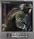 America's Army Proving Grounds Foil 3