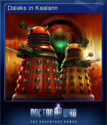 Doctor Who The Adventure Games Card 6