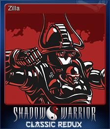 Shadow Warrior Classic Redux Card 5