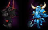 Shovel Knight Background The Shovelry Rivalry