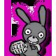Boo Bunny Plague Badge 3