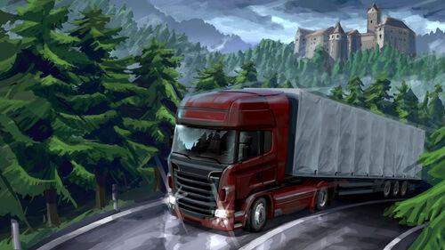 Euro Truck Simulator 2 Artwork 1