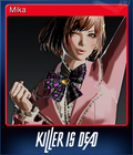 Killer is Dead Card 4