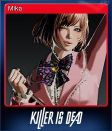 Killer is Dead Card 4
