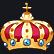 Long Live The Queen Emoticon coronet