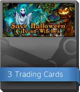 Save Halloween City of Witches Booster Pack