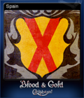 Blood & Gold Caribbean Card 10