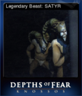Depths of Fear Knossos Card 1