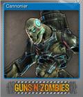 Guns n Zombies Foil 5
