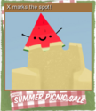 Summer Picnic Sale Card 02