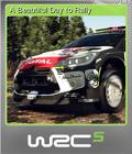 WRC 5 FIA World Rally Championship Foil 6
