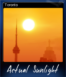 Actual Sunlight Card 8