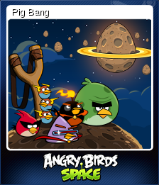 Angry Birds Space Card 1