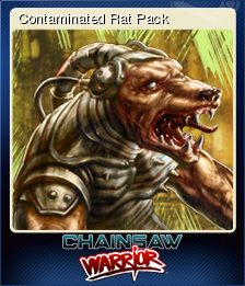 Chainsaw Warrior Card 3