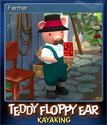 Teddy Floppy Ear Kayaking Card 3