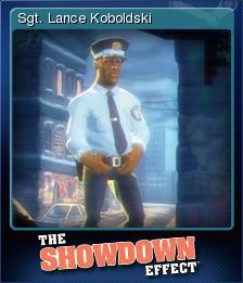 The Showdown Effect Card 5