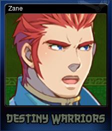 Destiny Warriors RPG Card 4