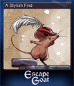 Escape Goat Card 2