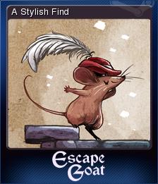 Escape Goat Card 2