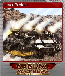 Ground Pounders Card 05 Foil