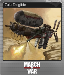 March of War Foil 10