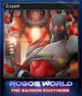 Robo's World The Zarnok Fortress Card 4