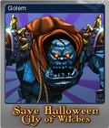 Save Halloween City of Witches Foil 10