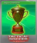 Tactical Soccer The New Season Foil 1