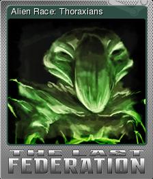 The Last Federation Card 07 Foil