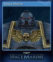 Warhammer 40,000 Space Marine Card 2