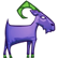 Escape Goat 2 Emoticon goatstanding