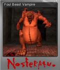 Nosferatu The Wrath of Malachi Foil 2