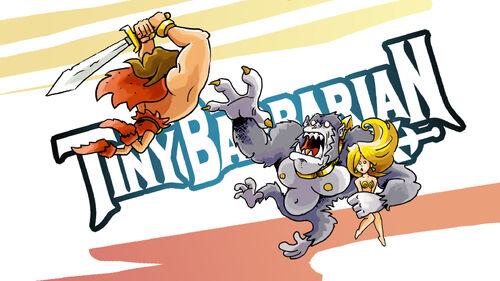 Tiny Barbarian DX Artwork 5
