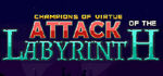 Attack of the Labyrinth + Logo