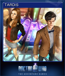 Doctor Who The Adventure Games Card 3