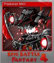 Epic Battle Fantasy 4 Foil 12