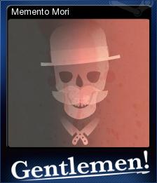 Gentlemen Card 5